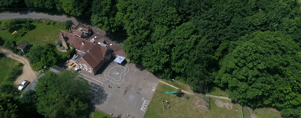 Hamble Nursery School Aerial Photo