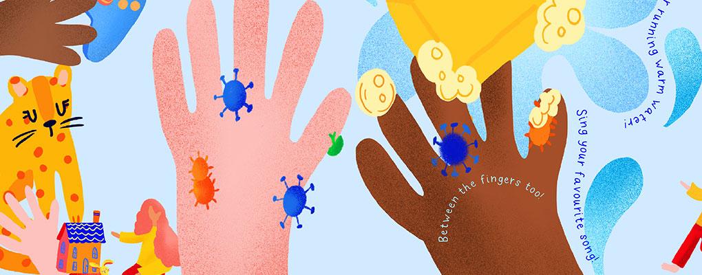Wash Hands at Hambledon Nursery